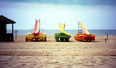 Photograph - Paddle Boats by Luis Esteves