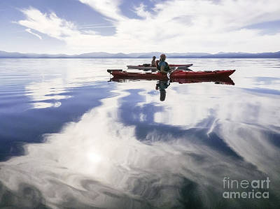 Photograph - Heavenly Paddle by Cheryl Wood