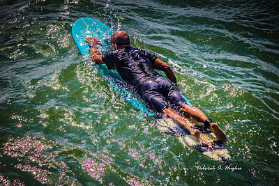 Photograph - Paddle Out by Deborah Hughes