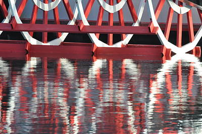 Photograph - Paddle Wheel by AnnaJo Vahle