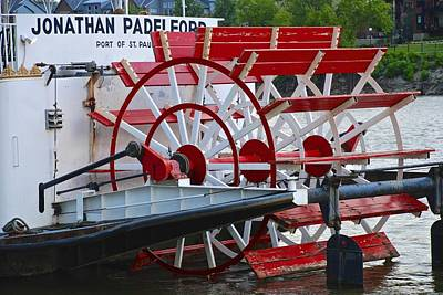 Photograph - Paddle Wheel by Charlie Brock