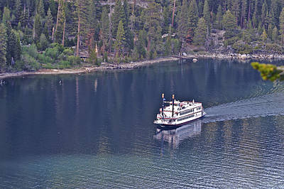 Photograph - Paddle Wheel Emerald Bay 3 by SC Heffner