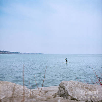 Priska Wettstein Pink Hues - Stand-up Paddle Boarding by Mary  Smyth