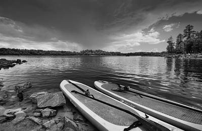 Photograph - Paddleboards At Rest by Michael Yeager
