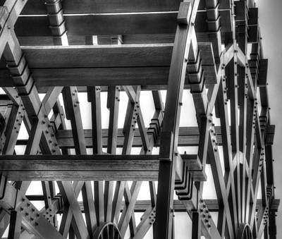 Photograph - Paddlewheel by Mark Bowmer