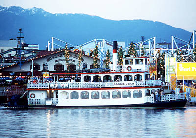 Photograph - Paddlewheeler Constitution by Robert  Rodvik
