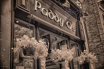 Infrared Photograph - Paddy O's by Joann Vitali