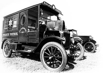 Paddy Wagon Photograph - Paddy Wagon by Larry Helms