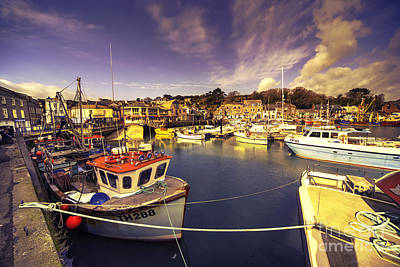 Stein Photograph - Padstow Vista  by Rob Hawkins
