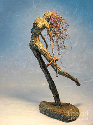 Gazing Mixed Media - Paean From The Syrinxes A Sculpture by Adam Long