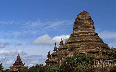 Photograph - Pagan Burma Stupa by Scott Shaw