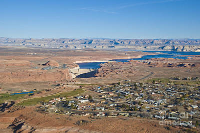 Photograph - Page Arizona With Lake Powell by Kate Sumners