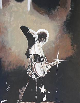 Led Zeppelin Painting - Page by Jeremy Moore