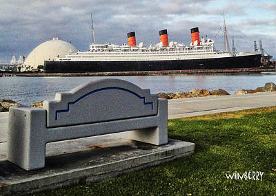 Queen Mary Digital Art - Page69 by Bob Winberry