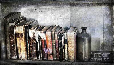 Library Digital Art - Pages Of History by Lori Frostad