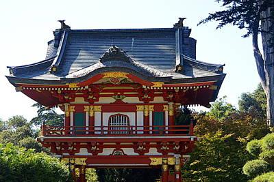 Photograph - Pagoda by AJ  Schibig