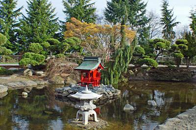 Photograph - Pagoda Gardens by Tikvah's Hope