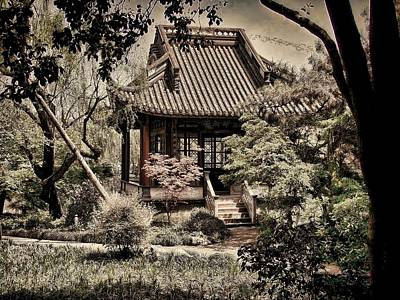 Photograph - Pagoda In The Woods by Robert Knight