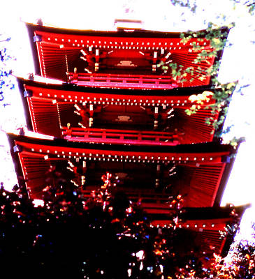 Photograph - Pagoda Marvel by Robert  Rodvik