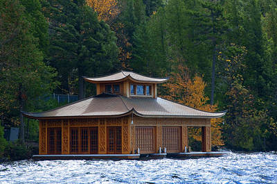 Photograph - Pagoda On Lake Placid by Brenda Kean