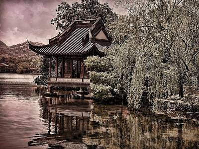 Photograph - Pagoda On Westlake by Robert Knight
