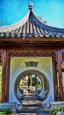 Photograph - Pagoda by Peggy Hughes