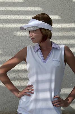 Hat Photograph - Pahr Golf Clothes by Hugh Smith