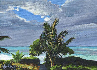 Kailua Painting - Paia Afternoon Glow by Stacy Vosberg