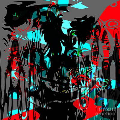 Pain Art Print by Ashantaey Sunny-Fay