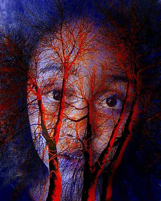 Photograph - Painful by Jodie Marie Anne Richardson Traugott          aka jm-ART
