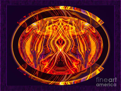Digital Art - Painfully Aware Painful Awareness Abstract Healing Art Abstract Healing Art by Omaste Witkowski