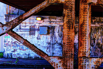 Paint And Rust 28 Print by Jim Wright