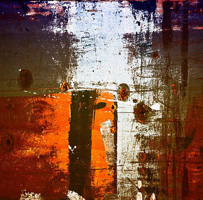 Photograph - Paint Bi Color 1 by Mary Jane Utley