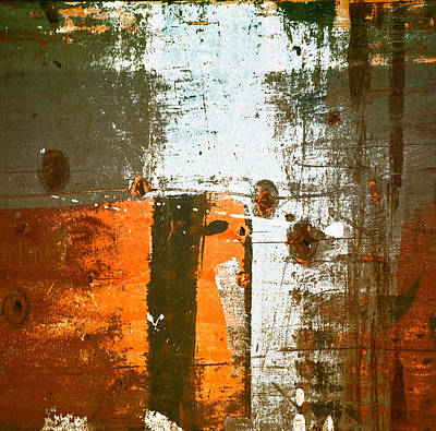Photograph - Paint Bi Color 3 by Mary Jane Utley