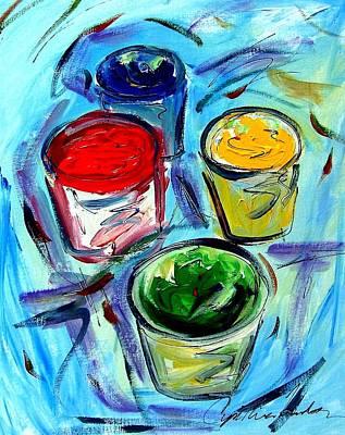 Paint Art Print by Cynthia Hudson