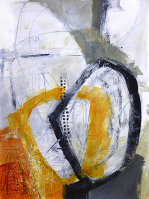 Fat Painting - Paint Improv 1 by Jane Davies