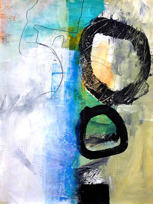 Fat Painting - paint Improv 10 by Jane Davies