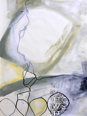 Keywords Painting - Paint Improv 6 by Jane Davies