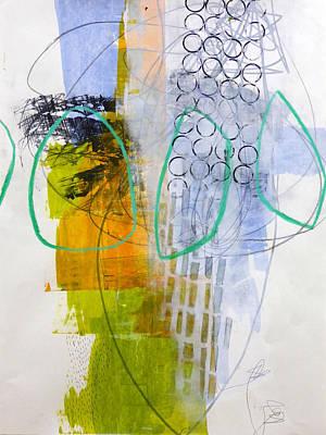Keywords Painting - Paint Improv 7 by Jane Davies