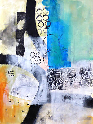 Fat Painting - Paint Improv 9 by Jane Davies