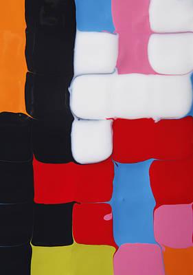 Photograph - Paint Squares by Paul Taylor