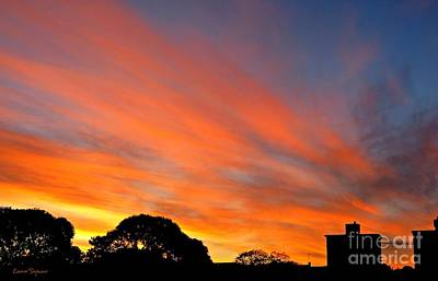 Photograph - Paint The Sky With Love by Leanne Seymour