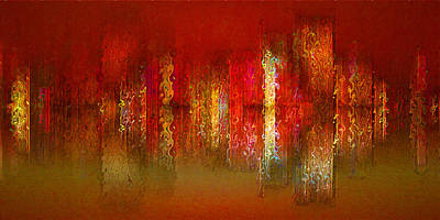 Paint The Town Red Art Print by Stuart Turnbull