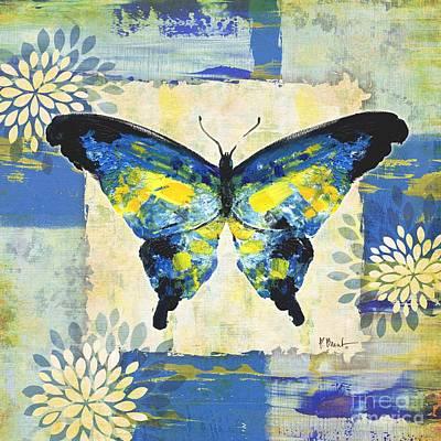 Paintbrush Butterfly I Art Print by Paul Brent