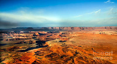 Photograph - Painted Canyonland by Robert Bales
