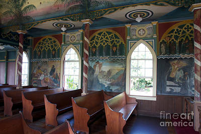Photograph - Painted Church All Profits Go To Hospice Of The Calumet Area by Joanne Markiewicz