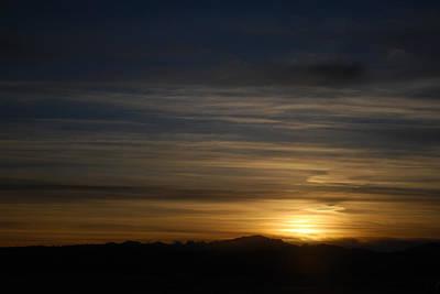 Photograph - Painted Clouds At Sunset by Dakota Light Photography By Dakota