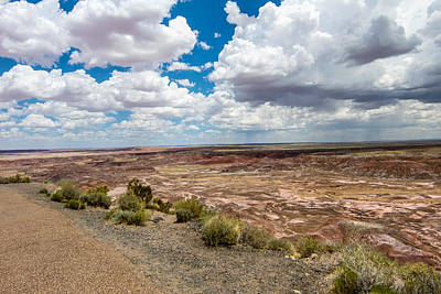 Photograph - Painted Desert 11 by Robert Hebert