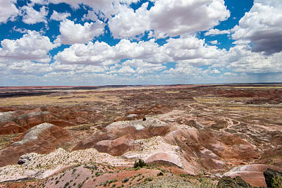 Photograph - Painted Desert 13 by Robert Hebert