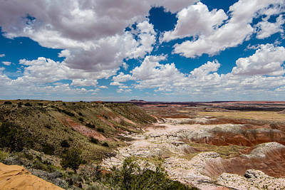 Photograph - painted Desert 2 by Robert Hebert